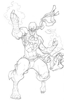 Iron Fist by mikebowden