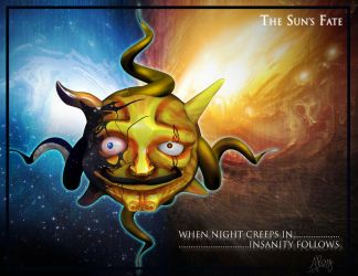 The Sun's Fate by drion4