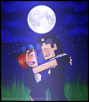 Minecraft Story Mode: Petra X Axel by PrettyXTheXArtist