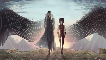 Don't Starve Wallpaper - Blood Eagles by Ecfor