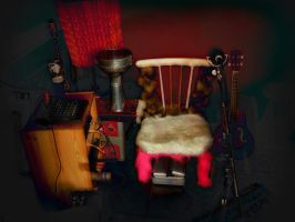 the pussy- chair by feldrand