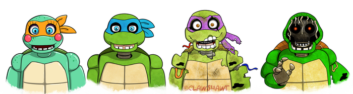 Turtle Robutts by Clawshawt