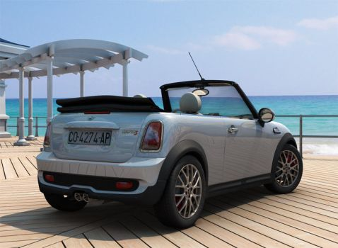 Mini Cooper S Cabrio by pablete