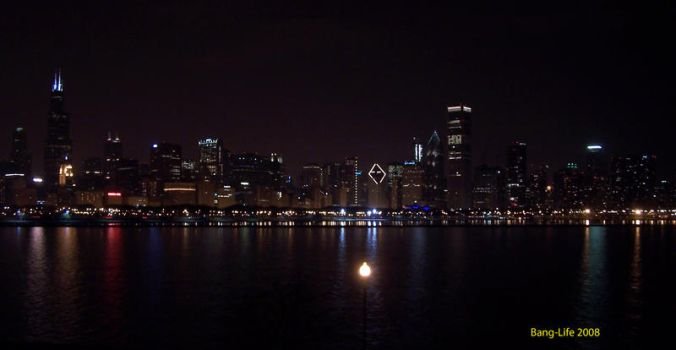 Chicago Skyline by Bang-Life