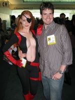Jess and I at Comic Con by gadren
