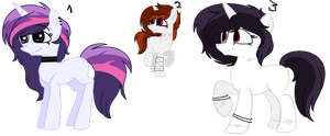 Ponies Adopts /OPEN/ by LilBitchie