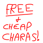 FREE AND CHEAP CHARACTERS (OPEN) by Autumns-Dusk