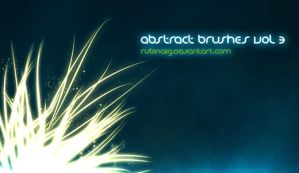 Abstract Brushes Vol 3 by GimpBrush