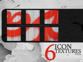6 Icontextures: red by mercurycode