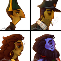The asylum crew- Demon Days by Nara-chann