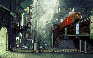 Old City Station by yar0