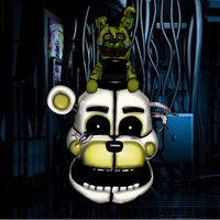 Funtime Withered Golden Freddy by Enderkiller1987