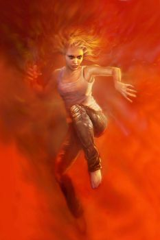 Flame by SteveDeLaMare