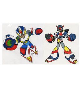Megaman X2 and X3 by Queen-Mother