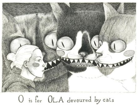 O is for Ola by LadyOrlandoArt