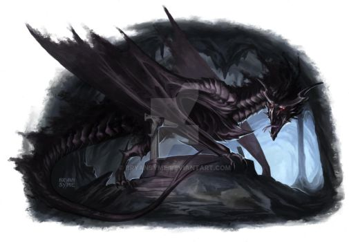 Shadow Drake by BryanSyme