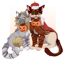 Commission | Spoopy Scary by PastelMangoo