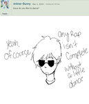 Ask Dave Strider 2 by TheOperatorsShadow