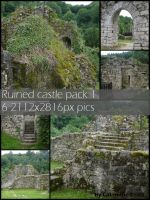 Ruined castle pack 1 by Cat-in-the-Stock