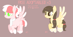 FREE ADOPTABLES #2 Closed by KarinMagique