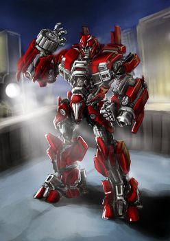 Ironhide by Diovega