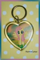 MLP: Fluttershy 01 Keychain by ObjectionSoS