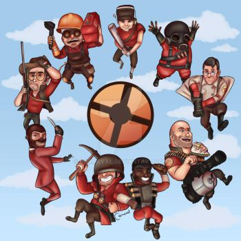 TF2 All Together by Carmeval