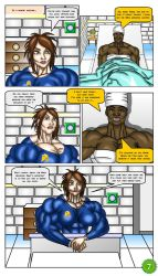 Angie Nakamura #1 page 7 by LordKelvin
