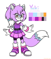 Yuki the fox by Kiiro-nee-san