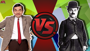 CFC|Mr.Bean vs. Tramp by Vex2001