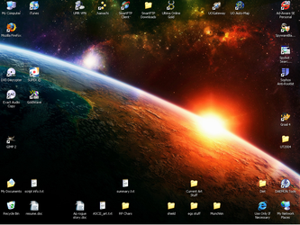 My Desktop by Lomgren