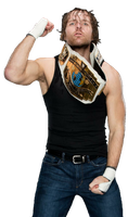 Dean Ambrose WWE Intercontinental Champion by NuruddinAyobWWE