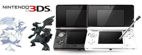 3DS Black and White by suricata5