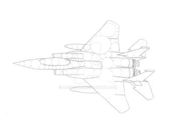 Fighter Aircraft by Anqueetas
