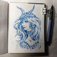Instaart - Dragon hat by Candra