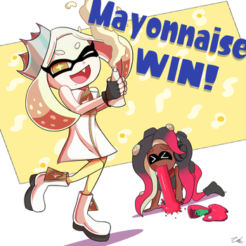 Team Mayo by zelc-face