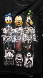 Tower of Terror T-shirt by ultra43