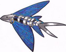 Flying Fish by TheMachineFactory