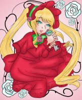 Rozen Maiden- Shinku by ruzovymonster