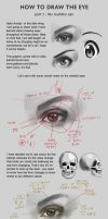 How to draw eyes (realistic) by zaphiel-san