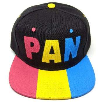Pansexual Snapback by queerestgear