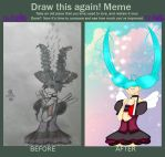 Draw this again! Meme: Hatsune miku: 1/6 OOTG by Damian5320