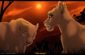 . FanArtFriday . Nala and Vitani . by ShadowCatsKey