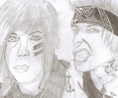 Dahvie and Jayy (BOTDF) by xxnightmare13
