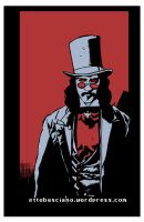 Dracula (Gary Oldman) - after Mike Mignola - color by EttoBascianoWorks
