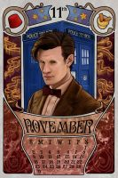 11th Doctor by boop-boop
