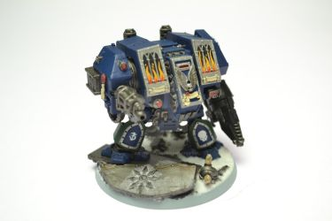 Draconis Chapter Dreadnought Vargas by Atreius-Lux