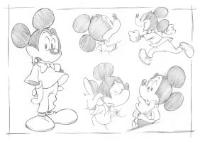 Disney - Mickey Mouse by uger