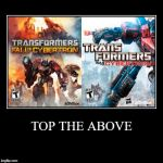 How to make a good Transformers Game by JMK-Prime