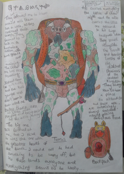 Pig golems page 2 ~ Journal page 9 by hananas59